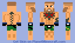 Conor McGregor Minecraft Skin