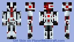CyBorg (Red) Minecraft Skin