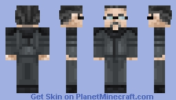 The Director - Red vs Blue Minecraft Skin