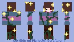 Frisk And Flowey Alagam Minecraft Skin