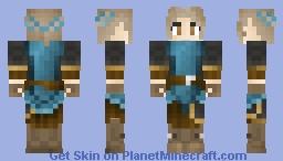 Swordswoman Minecraft Skin