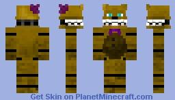 FNaF - Fredbear Minecraft
