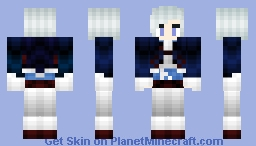Experimental Frost Nymph Minecraft Skin