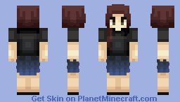 with love. Minecraft Skin