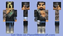 Overwatch- Hanzo Minecraft Skin