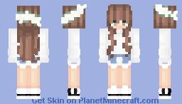 Causal Adidas Girl ; @AbbysGaming Req Minecraft Skin