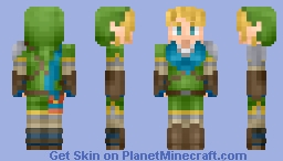 Link - Legend of Zelda Hyrule Warriors Minecraft Skin