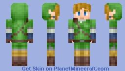 Link - Legend of Zelda Skyward Sword Minecraft
