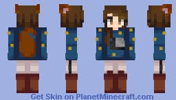 ƁℓυєAηgєℓ ~Lipse // FanSkin Minecraft