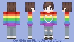 pride // + an apology Minecraft Skin