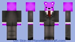 Purple Bear Minecraft Skin