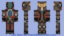 Shuttle Spelunker Minecraft Skin