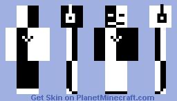 YingYang Minecraft Skin