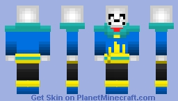 Fantasy Sans Minecraft Skin
