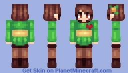 –«Chara- UnderTale»– Minecraft