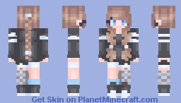 One line Two line - 180 SPECIal Minecraft Skin