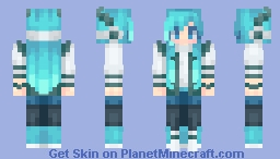 Icy Horns Minecraft Skin