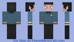 TOS Mr Spock Minecraft Skin