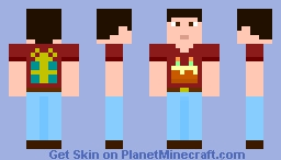 Birthday Boy Minecraft