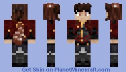 Red Panda Hybrid [SPG] Minecraft Skin