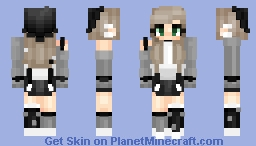 In The Name of Gray Minecraft Skin