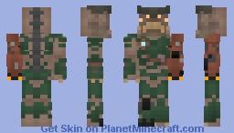 Cyberdemon (Doom 2016) Minecraft Skin