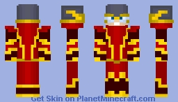 Johnny Quick (Crime Syndicate) Minecraft Skin