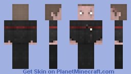 ST DS9 / Starfleet Infantry Red Minecraft Skin