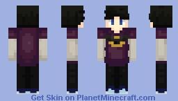The Batman Minecraft Skin