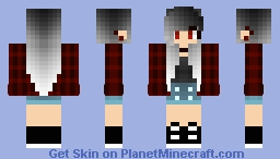 Vampire Girl Minecraft Skin