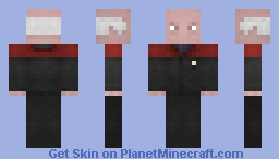 Captain Picard, / ST Generations Minecraft Skin