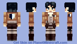 Levi [Attack on Titan] Minecraft Skin