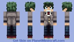 Izuku Midoriya - Boku no Hero Academia Minecraft Skin