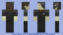 Data, Damaged Robot Face  /  Request Skin Minecraft Skin