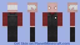 Cpt Picard - Waistcoat  /  ST FC Minecraft Skin