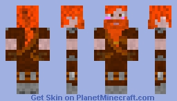Old Young Dwarf Minecraft Skin