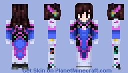 Overwatch | D.Va Minecraft Skin