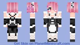Ram {Re:Zero kara Hajimeru Isekai Seikatsu} Minecraft Skin
