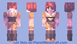 she shines Minecraft Skin