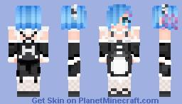 Rem {Re:Zero kara Hajimeru Isekai Seikatsu} Minecraft Skin