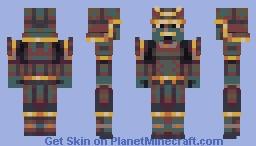 Samurallergai [PBL17] Minecraft Skin
