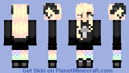pastel goth- it's like if me and my mom fusioned Minecraft Skin