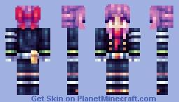 Shinoa Hiiragi (Owari no Seraph) Minecraft Skin