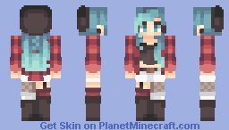 ⌊uℵašoα⌊ ~ I Am Officially Obsessed W/ Ombre Minecraft Skin