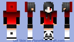 Red Beanie/Hoodie [BOY VERSION IN DESC.] Minecraft