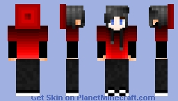 Red Beanie/Hoodie [FEMALE VERSION IN DESC.] Minecraft