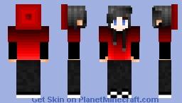 Red Beanie/Hoodie [FEMALE VERSION IN DESC.] Minecraft