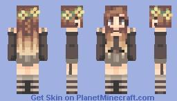 ⌊uℵašoα⌊ ~ Sunflower Child Minecraft Skin