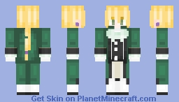 Jack Bezarius Minecraft Skin