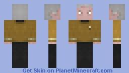 Captain Tracey  /  ST TOS Minecraft Skin
